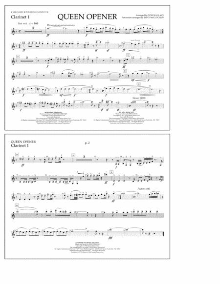 Queen Opener - Clarinet 1