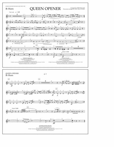 Queen Opener - Bb Horn