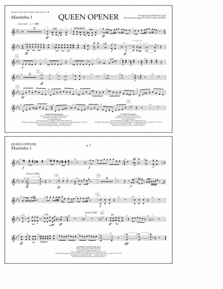 Queen Opener - Marimba 1