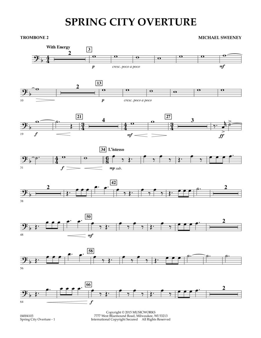 Spring City Overture - Trombone 2