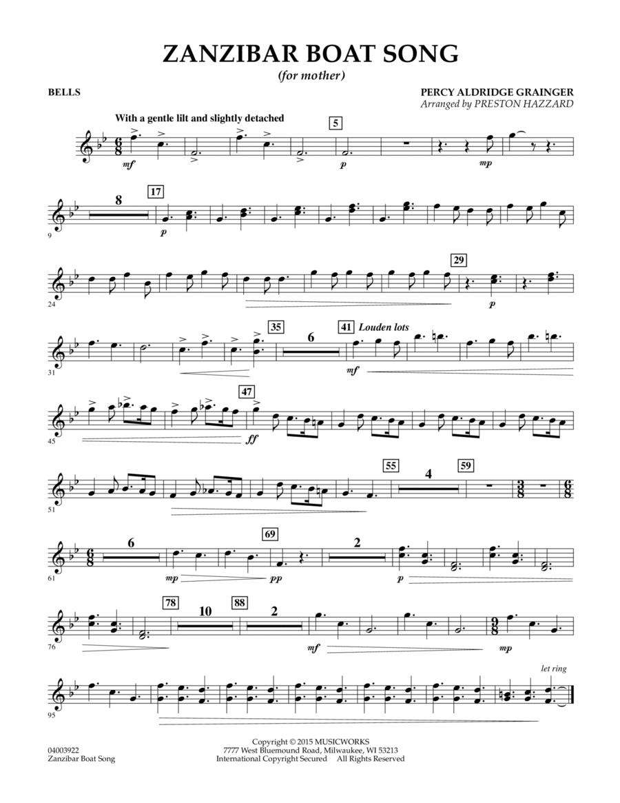 Zanzibar Boat Song - Bells