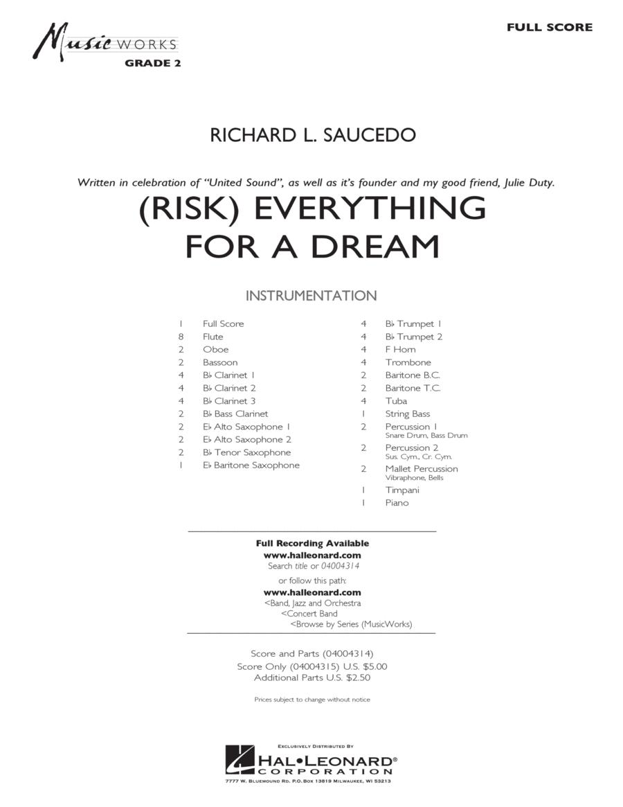 (Risk) Everything for a Dream - Full Score