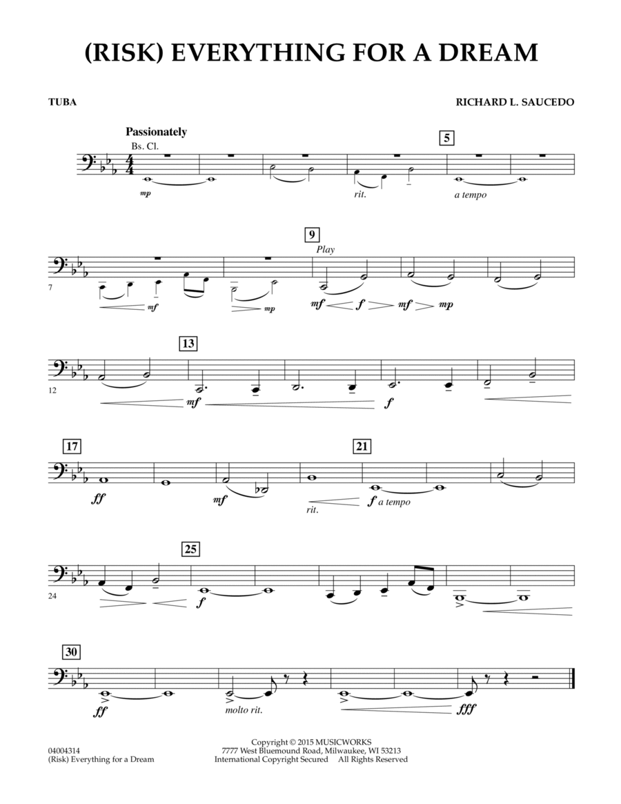 (Risk) Everything for a Dream - Tuba