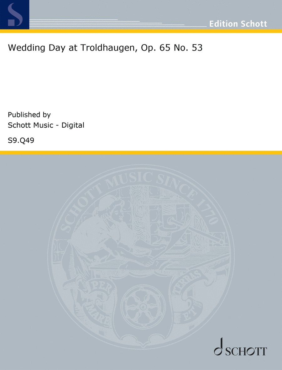 Wedding Day at Troldhaugen, Op. 65 No. 53
