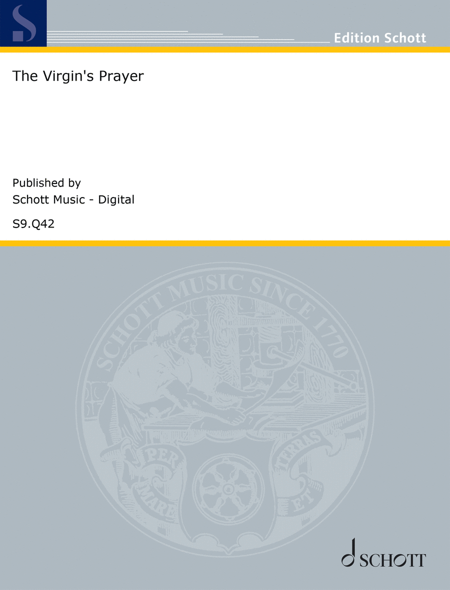 The Virgin's Prayer