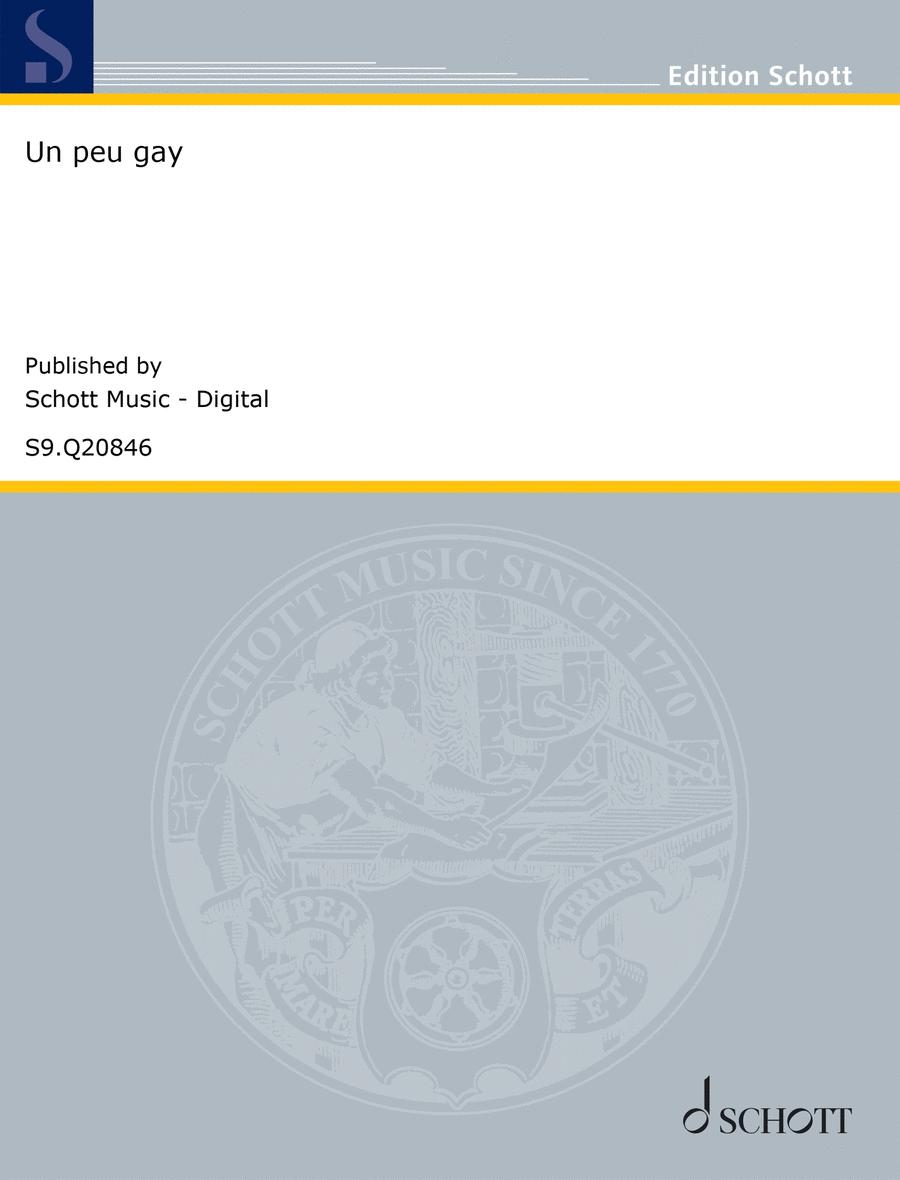 Un peu gay