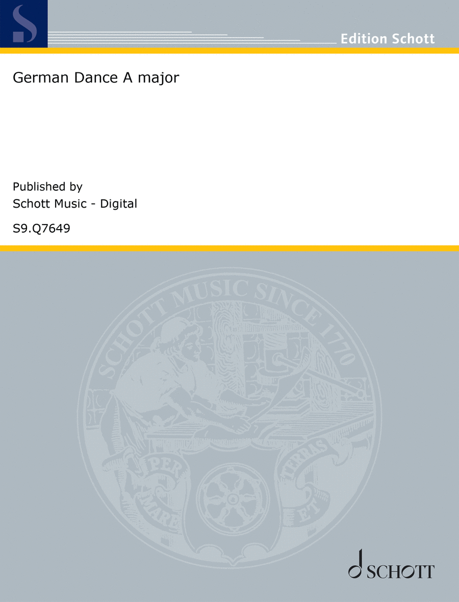 German Dance in A major