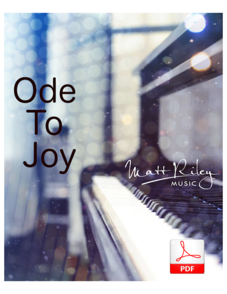Ode To Joy - Piano