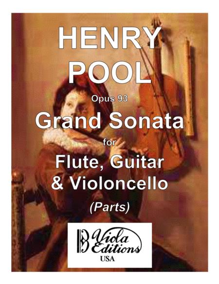 Grand Sonata for Flute, Guitar & Cello (Parts)