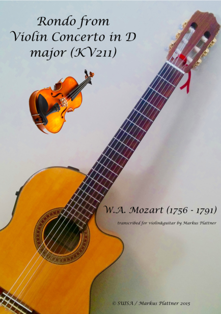Mozart Rondo for Violin and Guitar