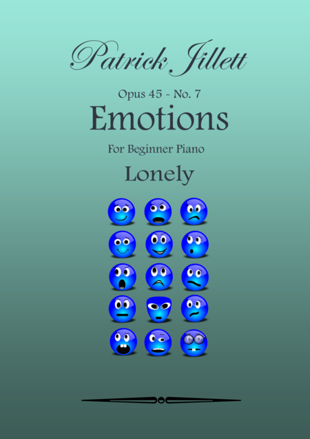 Emotions - For Beginner Piano No. 7 -  Lonely