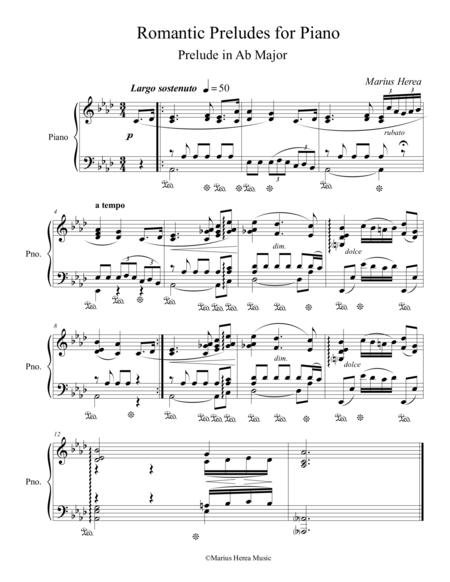Prelude in Ab Major