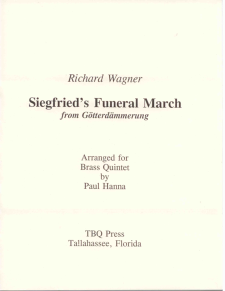Siegfried's Funeral March