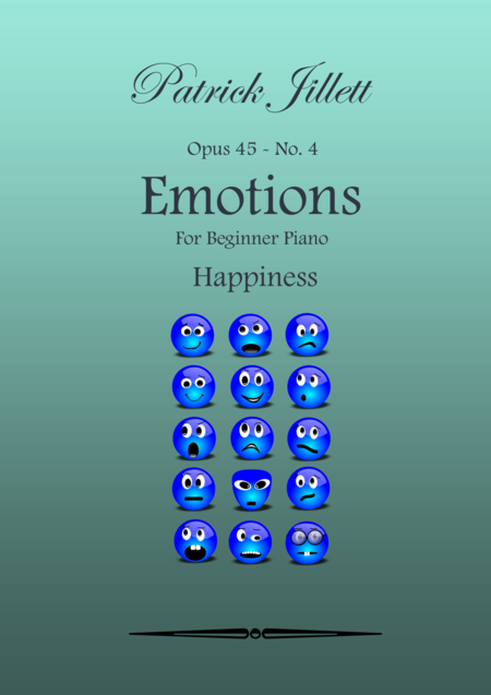 Emotions - For Beginner Piano No. 4 - Happiness