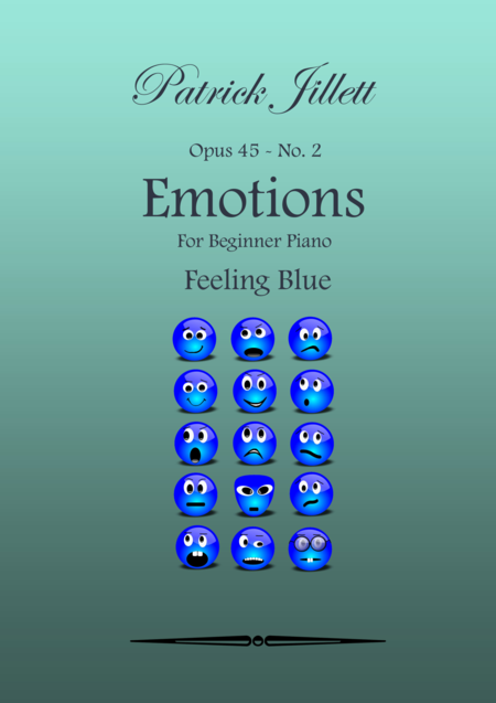Emotions - For Beginner Piano No. 2 - Feeling Blue
