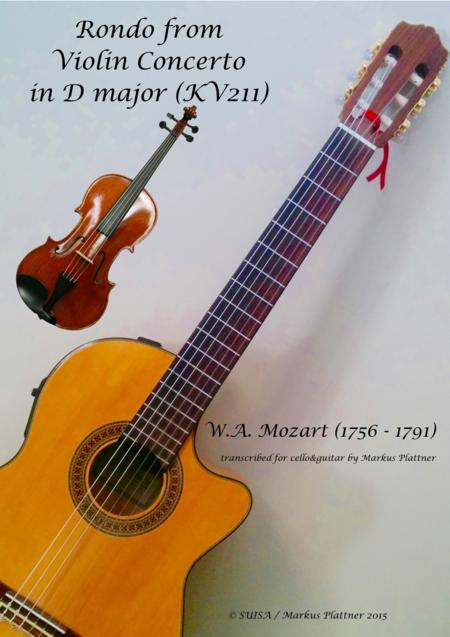 Mozart Rondo for Viola and Guitar