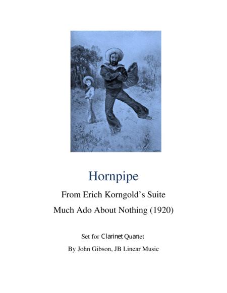 Hornpipe Set for Clarinet Quartet - Korngold