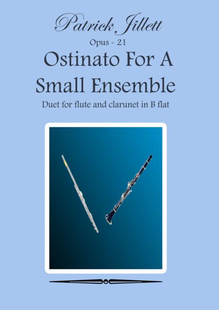 Ostinato For A Small Ensemble