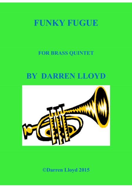 Funky Fugue for Brass Quintet