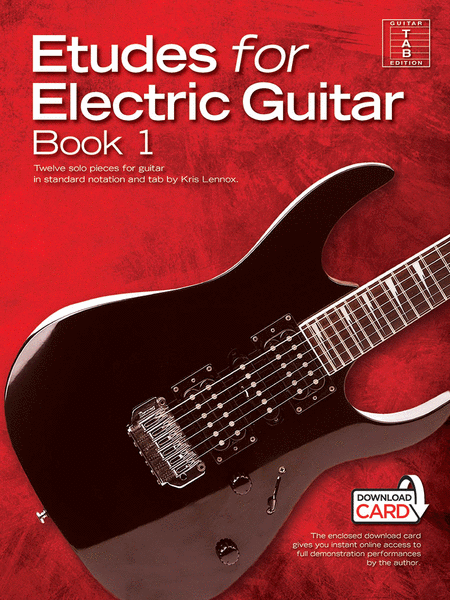 etudes for electric guitar book 1 sheet music by kris lennox sheet music plus. Black Bedroom Furniture Sets. Home Design Ideas