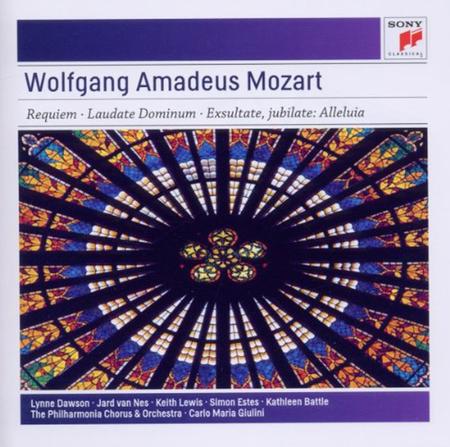 Mozart: Requiem in D Minor, K. 626 - Vesperae solennes de confessore, K. 339 - Exsultate, jubilate K. 165