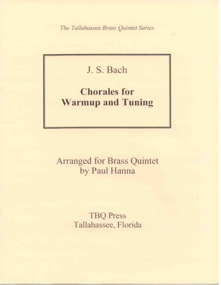 Chorales for Warmup and Tuning