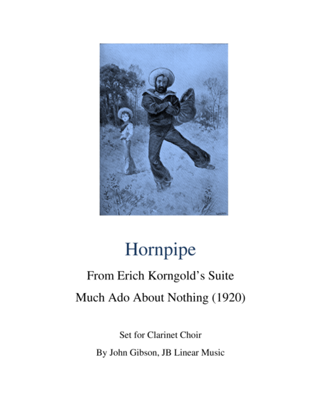 Hornpipe for Clarinet Choir - Korngold