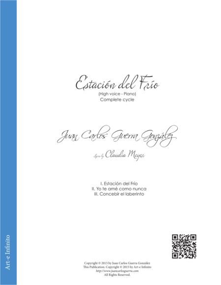 Estacion del frio - (Complete Cycle) - Tenor and Piano