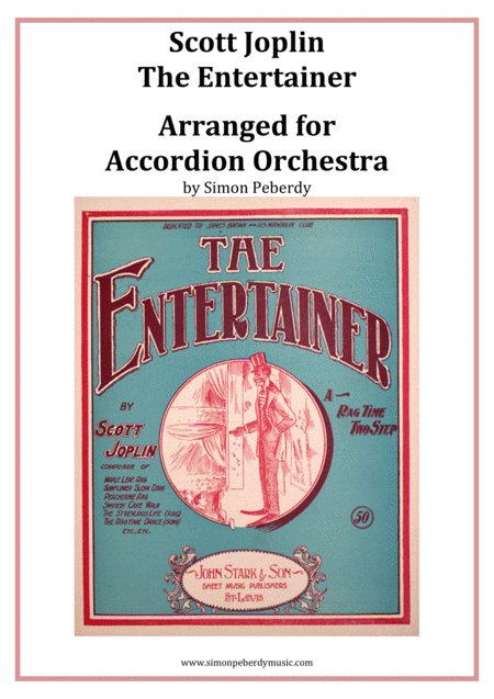 The Entertainer (Joplin) for Accordion Orchestra, arr. Simon Peberdy