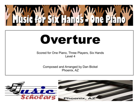 Overture for 1 Piano 6 Hands