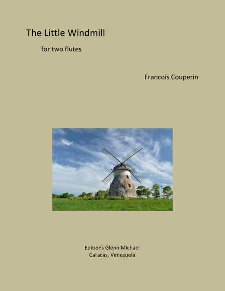 The Little Windmill for flute duet
