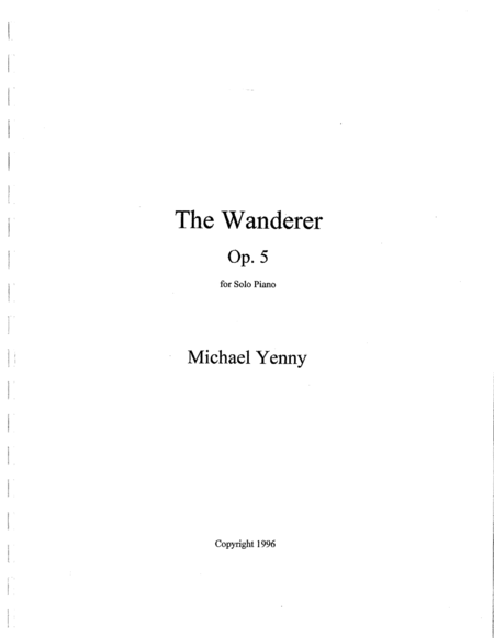 The Wanderer, op. 5