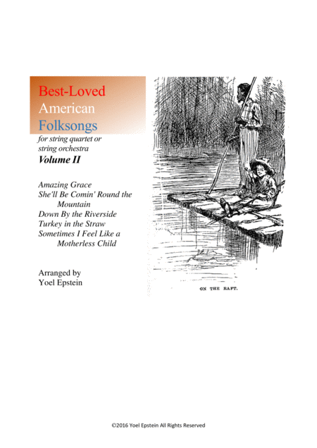 Best-loved American Folksongs for string quartet or string orchestra - Volume 2
