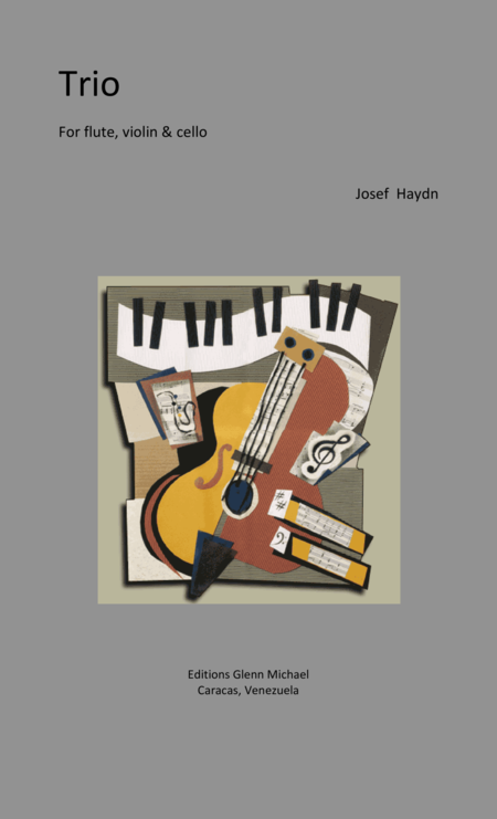 Haydn, Trio for flute, violin & cello