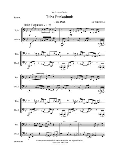 Tuba Funkadunk- tuba duet