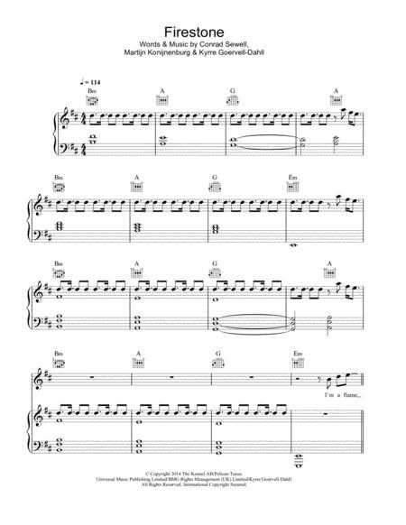 Firestone (featuring Conrad Sewell)
