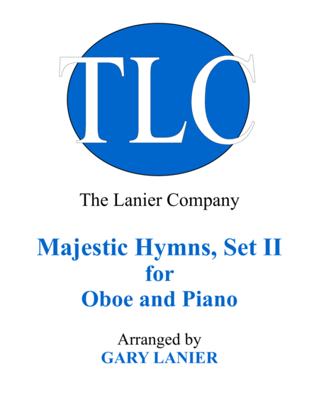 MAJESTIC HYMNS, SET II (Duets for Oboe & Piano)