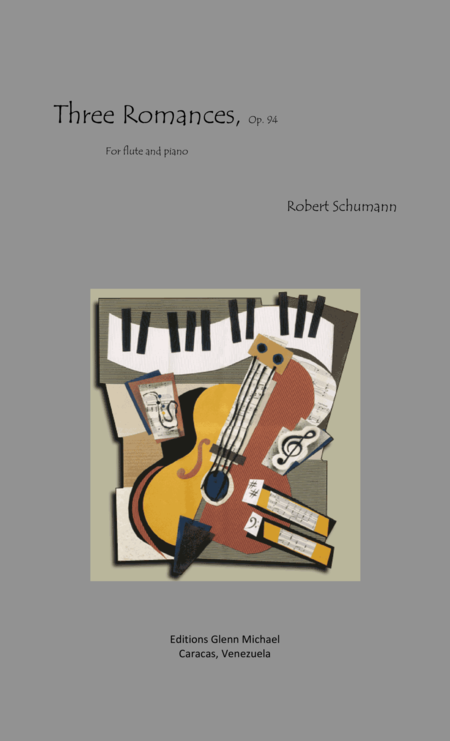Schumann, 3 Romances for flute & piano
