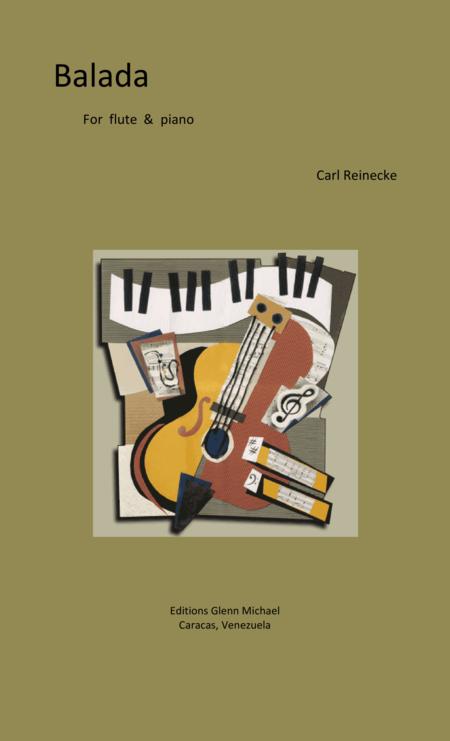 Reinecke Balada for flute & piano
