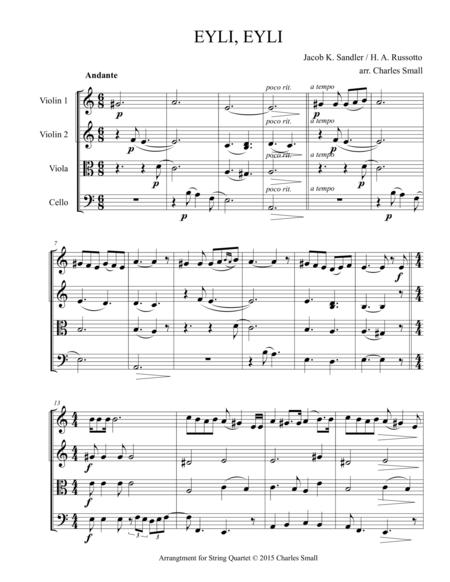 Eyli, Eyli (traditional Yiddish song)