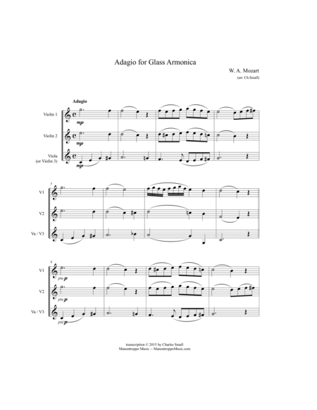 Adagio for Glass Armonica (Mozart)