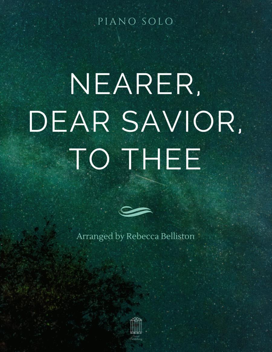 Nearer, Dear Savior, to Thee (Piano Solo)
