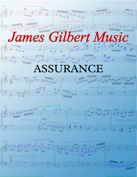 ASSURANCE (Blessed Assurance)