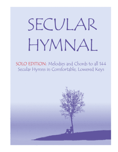Secular Hymnal - Solo Edition
