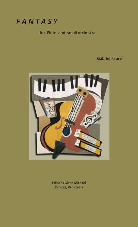 Faure Fantasy for flute & strings