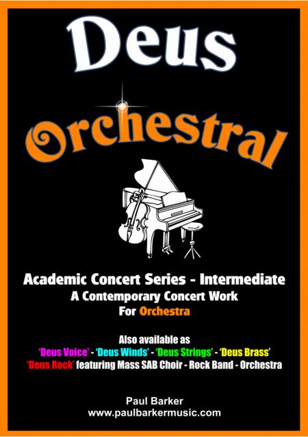 Deus Orchestral (Score & Parts)
