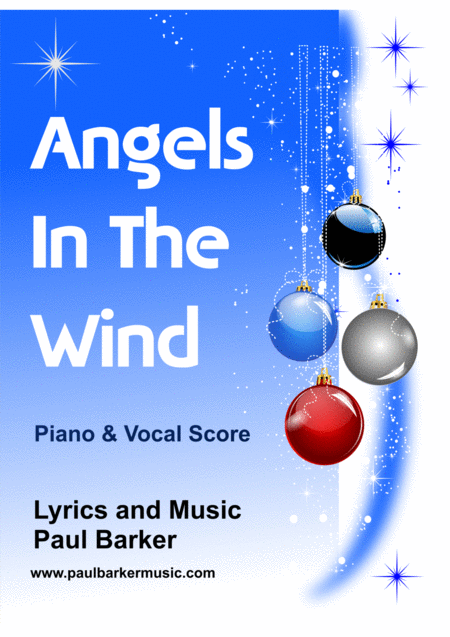Angels In The Wind (Vocal Piano Score)