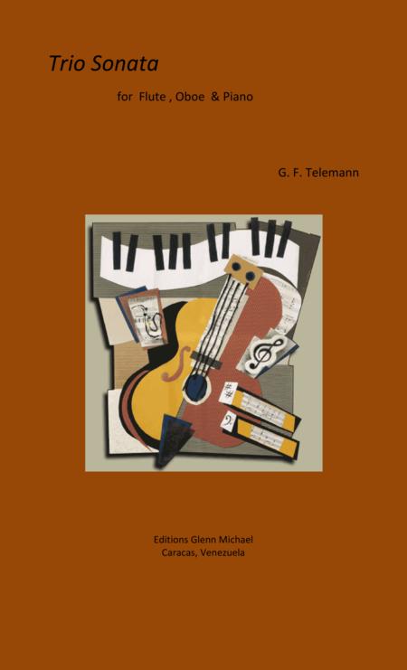 Telemann Trio Sonata for Flute, Oboe & pno
