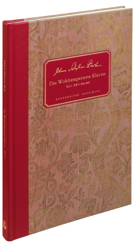 Johann Sebastian Bach. The Well-Tempered Clavier I BWV 846-869