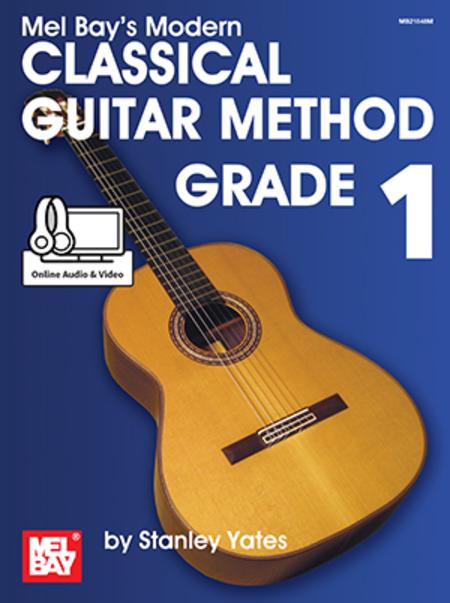 Modern Book Cover Guitar ~ Modern classical guitar method grade sheet music by